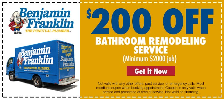 discount on bathroom remodeling services